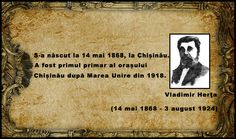 primul primar al orașului Chișinău după Marea Unire din 1918 14 Mai, Movie Posters, Film Poster, Popcorn Posters, Billboard, Film Posters