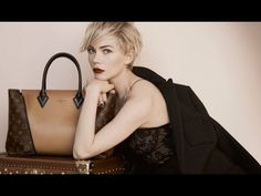 Behind the Scenes of the Louis Vuitton Campaign Shoot Featuring Michelle Williams