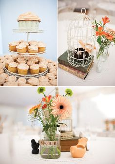 Stunning DIY Wedding from Sutherland Kovach... | Scrabble Tiles as Table number