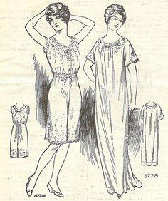 "lingerie ""novelties"" from Needlecraft magazine, June 1914 by blueprairie, via Flickr"