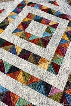 Free Tutorial - Four Patch Charm Quilt by Kathy Schwartz