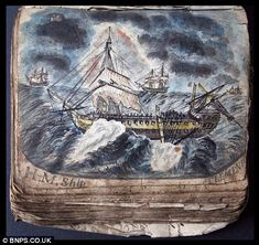Diary of 18th century sailor provides fascinating insight into life below decks in Nelson's navy | Mail Online
