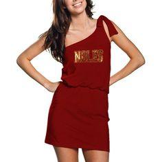 Florida State Seminoles Asymmetrical Dress