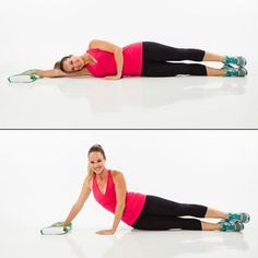 Lose love handles and tone your tummy without any gym equipment! This fat-burning core workout uses nothing but a beach towel and your body to deliver fast results.