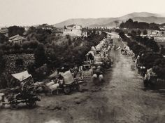 The Chubachus Library of Photographic History: A Convoy of Wounded Soldiers on the Road to Brescia After the Battle of Solferino (1859)