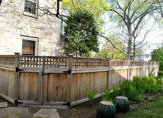 Norland Landscape custom fence