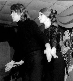 David Bowie & Hermione Farthingale...