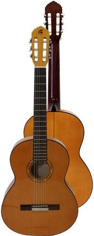 Ver Modelo B5Fa (Amarilla): Guitarra Flamenca del Constructor Francisco Bros, en el Blog de guitarra Artesana