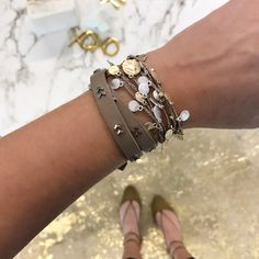 We love versatility! Our new #Settamedallion looks stunning as a bracelet and a necklace! Scoop it up on 3/2 so you can stack 'em up! #stelladotstyle