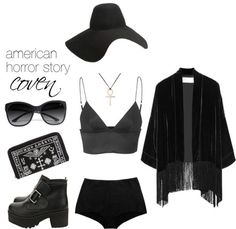 AHS: Coven (1) by fictionallyfashionable featuring... | Fictionally Fashionable