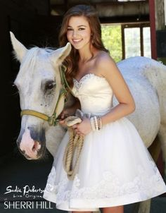 """Sadie Robertson's """"Daddy Approved"""" prom dress line by Sherri Hill...these dresses are so adorable!"""