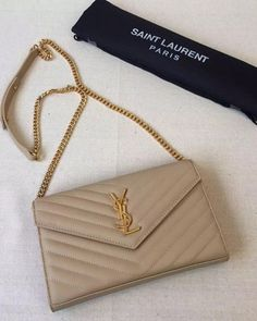 Bag review: YSL Saint Laurent Wallet on Chain Purse | Ysl ...