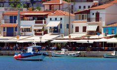 Kokkari on the Greek island of Samos