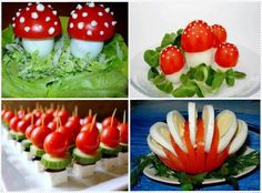 Decoration with Tomatoes..