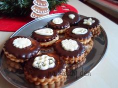 Christmas Cookies, Baked Goods, Sweet Tooth, Muffin, Baking, Breakfast, Recipes, Food, Pastries