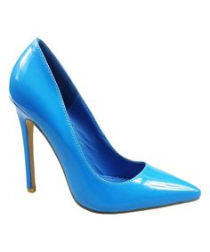 Take a look at this Alba Blue Ricky Pump today!