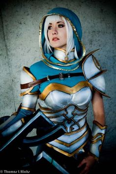 Riven, League of Legends. #cosplay #costume >>>> saltlakecomiccon.com: Coming Back Summer 2014!