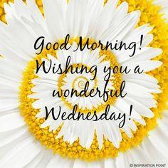 Good Morning/Wednesday