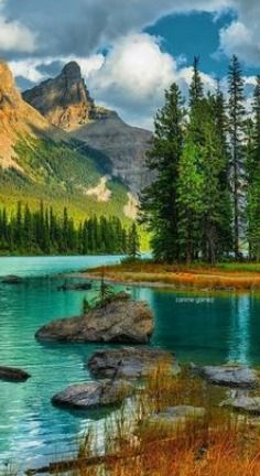 The post AB: Spirit Island Jasper National Park Alberta British Columbia Canada. Beautiful Nature Pictures, Beautiful Nature Wallpaper, Amazing Nature, Nature Photos, Beautiful Landscapes, Beautiful World, Beautiful Places, Nature Nature, Beautiful Scenery