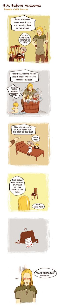 Prussia's awesome diaries