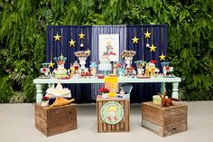 The little Prince party Prince Party Theme, Prince Birthday Theme, Baby Birthday, First Birthday Parties, The Little Prince Theme, Little Prince Party, Party Centerpieces, Birthday Party Decorations, Decoration Party