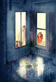 thats it, school starts tomorrow by PascalCampion on DeviantArt Pascal Campion, Love Illustration, Digital Illustration, Cute Couple Art, Sculpture, Aesthetic Art, Les Oeuvres, Amazing Art, Awesome