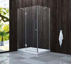 GENERA 120 x 90 x 190 Glas Dusche Duschkabine Duschwand Duschabtrennung in Heimwerker, Bad & Küche, Duschen | eBay