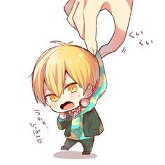 Kuroko No Basket, Manga, Chibi, Character Design, Kawaii, Cute, Anime, Fictional Characters, Boys