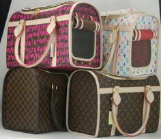 LV Dog Carriers ~DoggyStyle'N~