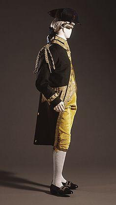 1750-1760 man's frock coat