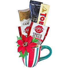 Christmas Morning Gift Mug to Saint-Vincent-and-the-Grenadines - Ukraine Flowers Delivery Flowers By Post, Flowers For You, Cheap Flowers, Chocolate Navidad, Chocolate Gifts, Chocolates, Order Flowers Online, Flowers Delivered, 50th Birthday Gifts