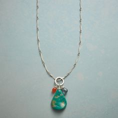 Nature's Own Turquoise Necklace | Sundance Catalog