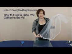 Gathering Your Veil: Step 4 in How to Make a Bridal Veil Series Veil Diy, Diy Wedding Veil, Wedding Gifts For Bridesmaids, Wedding Crafts, Budget Wedding, Wedding Blog, Wedding Dress, Bridal Cuff, Bridal Veils
