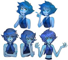 my lapis sketches from russian su ask