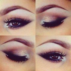 Maquillage & Beauté / Make-up & Beauty Beauty Zone, Beauty Make-up, Beauty Hacks, Hair Beauty, Beauty Ideas, Light Smokey Eye, Smoky Eyes, Black Smokey, Pretty Makeup