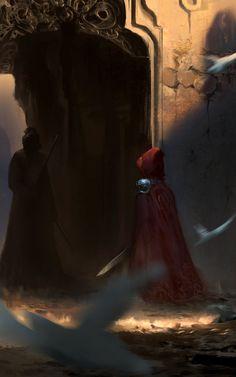 Little Red Hood, Dead Ends, High Fantasy, Weird World, Fantasy Artwork, Dungeons And Dragons, Cute Art, Character Inspiration, Concept Art