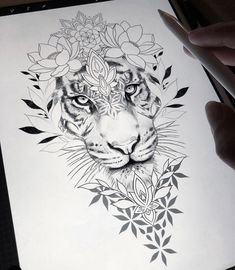 Loral thigh / hip design within reach! With pleasure I tattoo this be … – diy tattoo images Loral thigh / hip design within reach! With pleasure I tattoo this be Cute Tattoos, Beautiful Tattoos, Leg Tattoos, Body Art Tattoos, How To Draw Tattoos, Leo Lion Tattoos, Floral Thigh Tattoos, Nature Tattoos, Floral Tattoo Design