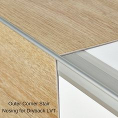 The Xtrafloor innovative stair nosing technology allows you to use your LVT flooring on steps which means a smooth transition from floor to stairs. Choose this nosing for Moduleo Dryback.