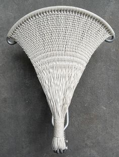 Woven Cord Suspension Saddle, c.1905.