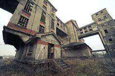 strange abandoned housing