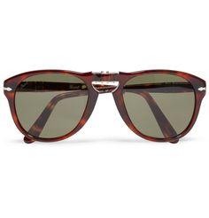 9e902b4092 Persol Foldable 714 Polarised Acetate Sunglasses