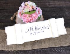 Personalized Lace Wine Box - Custom Bridal Shower Wedding Gift - Rustic Wedding
