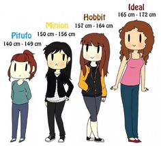 A girl for a size. << I'm a hobbit xD
