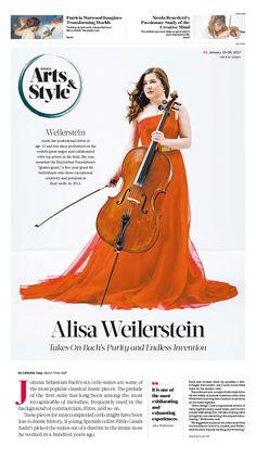 Alisa Weilerstein: Takes On Bach's Purity and Endless Invention|Epoch Times #ClassicalMusic #Cellist #AlisaWeilerstein #newspaper #editorialdesign