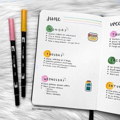 Bullet Journal Weekly Spread: 126 Layout Ideas You Need To Try - Inspiring Sunday Bullet Journal School, Bullet Journal Notebook, Bullet Journal Spread, Bullet Journal Ideas Pages, Book Journal, Bullet Journals, Bullet Journal Weekly Layout, Bullet Journal Order Tracker, Organization Bullet Journal