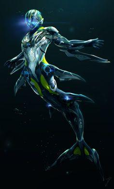 bulletproof2k:    Diving Suit by *cat-meff