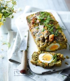 Serves Hands-on time 25 min, oven time 45 min Easy Persian cooks have been making koofteh (or kofte) like this for centuries. Mince Recipes, Lamb Recipes, Egg Recipes, Cooking Recipes, Healthy Recipes, Iranian Cuisine, Iranian Food, Middle Eastern Dishes, Gastronomia