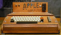 Original Apple Computer.... I wish we started shredding for you back then!