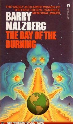 WTF Sci-Fi Book Covers: The Day of the Burning