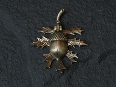 Bronze Oak Leaf and Acorn doorbell. $47.00, via Etsy.